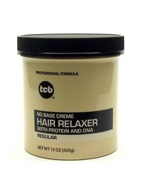Relaxer / Glättungscreme TCB hair relaxer with protein and dna REGULAR 425g