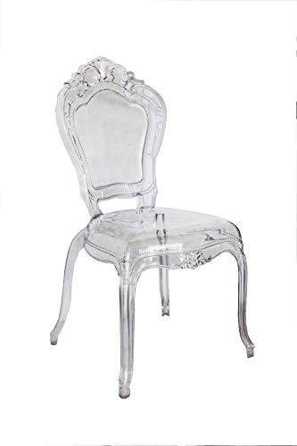 Keyhomestore Coppia Due sedie in Stile Barocco in ...