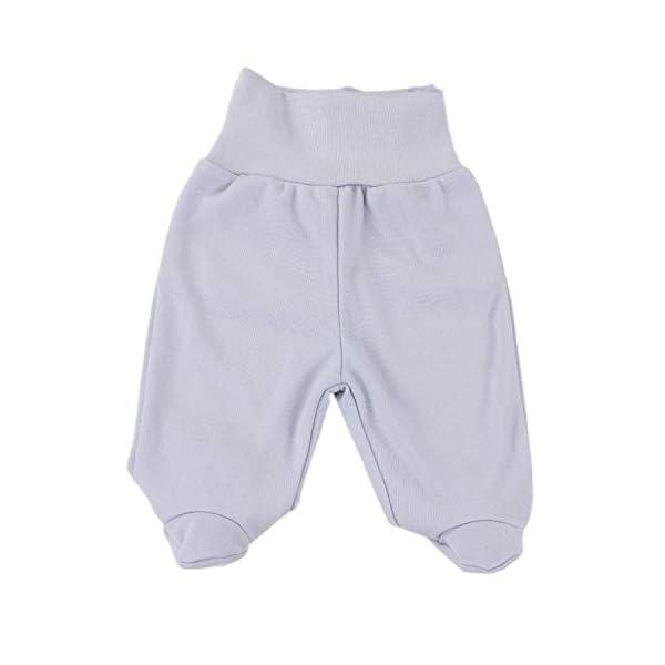 TupTam Pantalón con Pies de Bebé Paquete de 5 pies 3