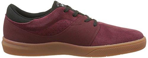 Globe Mahalo Sg, Low Sneaker Red Para Hombre (rot (borgoña / Goma))