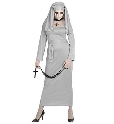 Karneval Klamotten Zombie Nonne Kostüm Zombie Nonne Halloween Damenkostüm Größe (Kinder Kostüme Nonne)