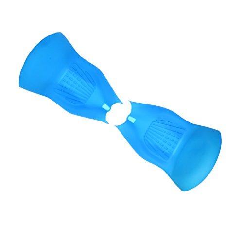 Coque de Protection de Hoverboard en Silicone Anti-dérapant pour Scooter de 10 pouces - 10 pouces, Bleu