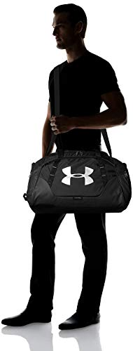 Under Armour Synthetic 11.8 inches Black Gym Bag (1300213) Image 4
