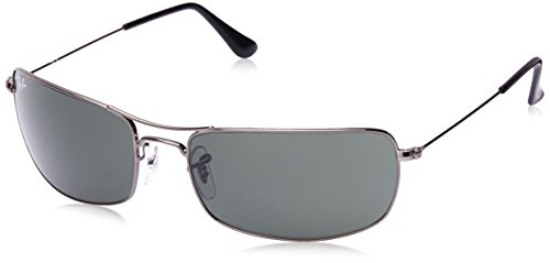 Ray ban 0rb3334i00461 Rectangular Sunglasses Gunmetal 0rb3334i00461- Price  in India d5928af027