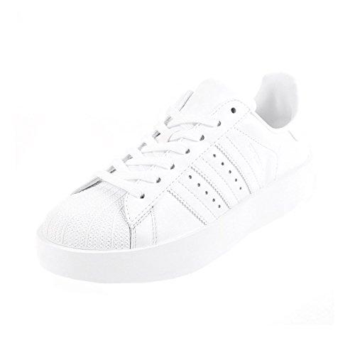 Adidas Superstar Bold W Sportschuhe für Damen , weiß,41 1/3 Adidas Weiß Basketball-schuhe
