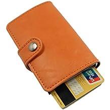 6d8f2f65dc porta carte di credito e porta banconote, portafoglio da uomo e donna in  pelle PU