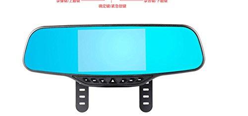 Dh electronic 1080p hd 140 sensori ° grandangolare parcheggio visione notturna di sorveglianza anteriore e posteriore a doppia lente registratore di guida