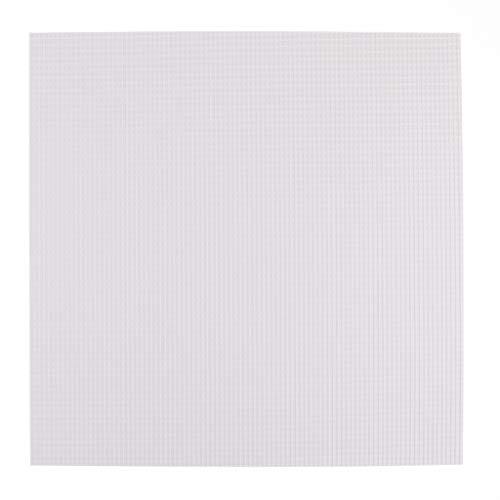 SM SunniMix 5 Stücke Kunststoff Bastelplatten weiß zum Basteln, für Modellbau, Möbel Verblendung, Laubsägearbeiten, Schilder, Werbetafeln