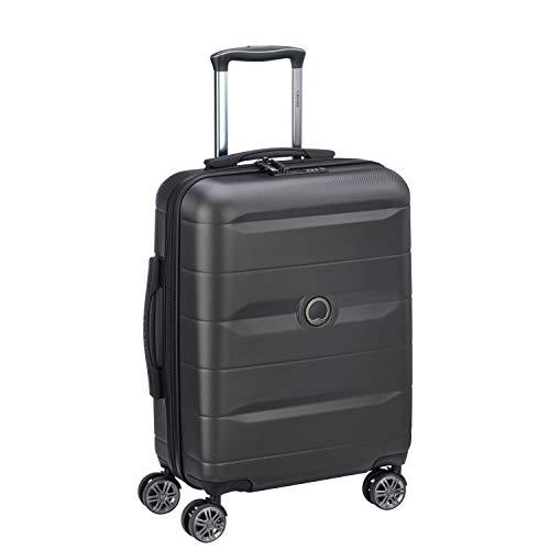 DELSEY PARIS - COMETE  - Valise rigide à doubles roues silencieuses et serrure TSA à combinaison intégrée - 55cm, 35.4L, No