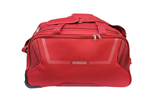 American Tourister Polyester 67 cms Red Travel Duffle (FJ7 (0) 00 102)