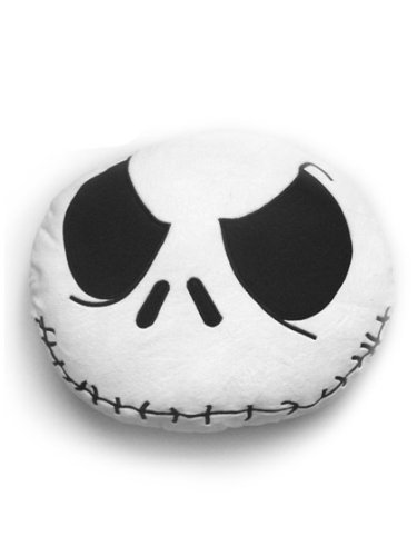 istmas Jack Skellington Smiley Kissen Weiss (Jack Skellington)