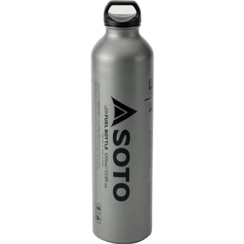 31F9tnhMgcL. SS500  - SOTO SOD-700-10 Fuel Bottle for Muka Stove 1 Litre Silver