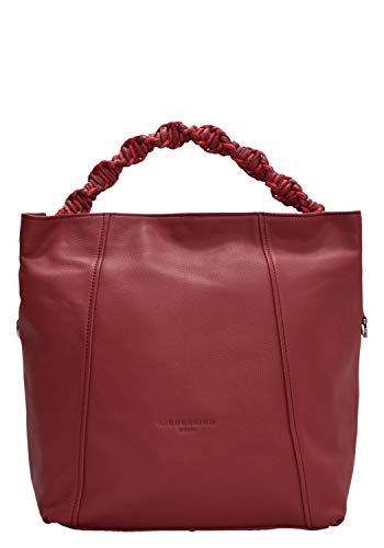 Liebeskind Berlin Damen Scuba Bag Hobo Medium Handbag hot red, 11x31x40 cm