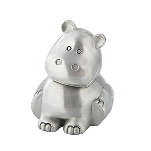 der, Geld Box Ornamente für WohnzimmerEuropean creative Hippo Sparschwein, niedlichen Tier Sparschwein Zuhause - Nilpferd ()
