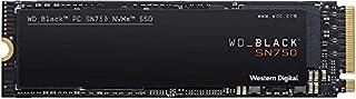 Western Digital WD Black SN750 NVMe SSD interne Festplatte 1 TB (Gaming SSD, 3470 MB/s Lesegeschwindigkeit, schlankes Design, NVMe SSD-Performance, WD Black SSD Dashboard) schwarz (B07M64QXMN) | Amazon price tracker / tracking, Amazon price history charts, Amazon price watches, Amazon price drop alerts
