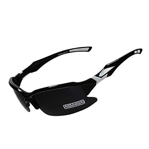 Preisvergleich Produktbild Sportbrille Laufen Damen Radsport Sonnenbrillen Für Polarisierte Brillen Im Freien Black White Damen Herren