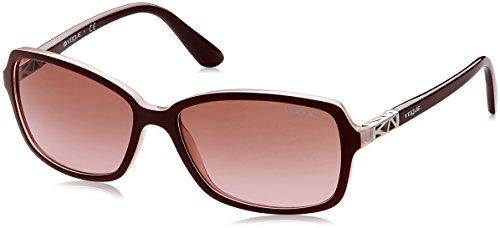 Vogue Gradient Rectangular Women'S Sunglasses - (0Vo5031S23871458|57. 9|Pink Gradient Brown) image
