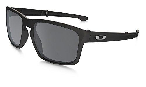 Oakley Herren Sonnenbrille Sliver Gold (Matte Black), 56