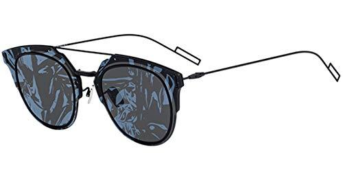 Dior Sonnenbrillen COMPOSIT 1.0 MATTE BLACK/GREY BLUE FANTASY Unisex