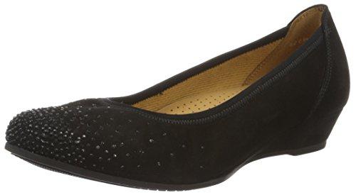 Gabor Shoes Damen Comfort Geschlossene Ballerinas, schwarz 47, 39 EU
