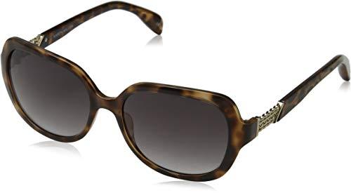 KAREN MILLEN Damen KM Collection Sonnenbrille, Braun (Brown Torf), 57.0