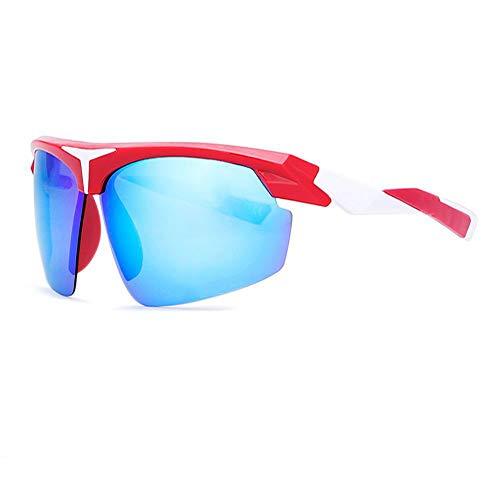 XIELH Sonnenbrille Polarisierte Sonnenbrille Männer Aktiven Lifestyle Schild Sonnenbrille Mann Brillen Brille Bei Outdoor-Sportarten, D