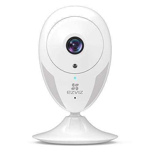 EZVIZ Überwachungskamera innen WLAN IP Kamera HD mit Magnetfuß | Server in Europa | Nachtsicht, Bewegungserkennung, Gegensprechen, Kompatibel with Alexa, Handy App, Home/Baby/Haustier Cam CTQ2C