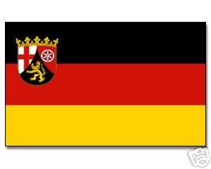 Rheinland pfalz yantec drapeau 250 x 150 cm