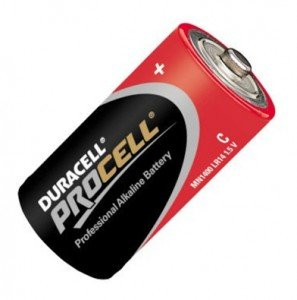 DURACELL - PROCELL Batterie MN1400 LR14 Baby C (Bulk)