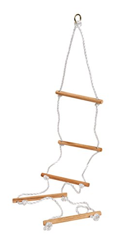 Eichhorn 100004504 - Outdoor Strickleiter aus Holz - TÜV/GS geprüft - Länge: 170cm
