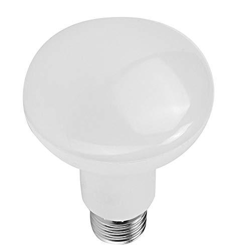 Características:   1. Esta bombilla es de alta eficiencia, bajo consumo de energía, amigable con el medio ambiente.  2. Las bombillas LED ofrecen una luz blanca brillante con una excelente reproducción del color.  3. Hecho de aluminio y material de ...