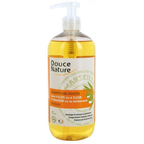 Shampoing douche fleur d'orange de méditerranée BIO - 500 ml