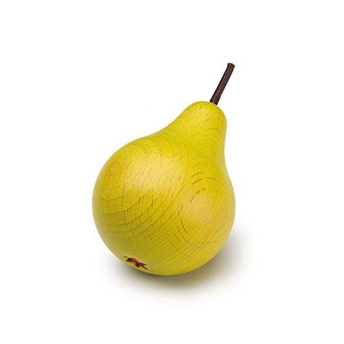 Erzi Juego de Madera de Alimentos - Juego de imaginación Grocery Shop - Fruta, Pera