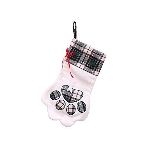 xiaohan Haustier-Weihnachtsstrumpf für Hunde und Katzen, ()