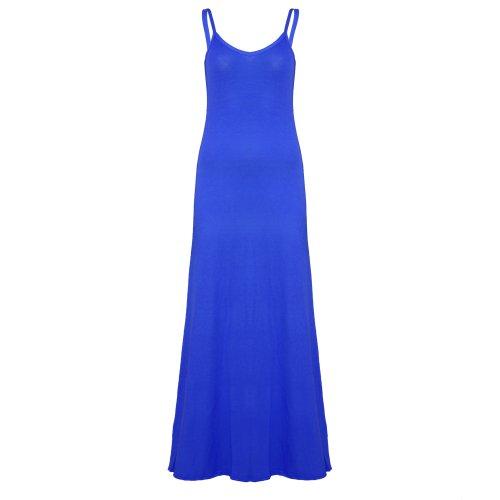 Be Jealous -  Vestito  - Donna Royal Blue - Plain Sleeveless Camisole