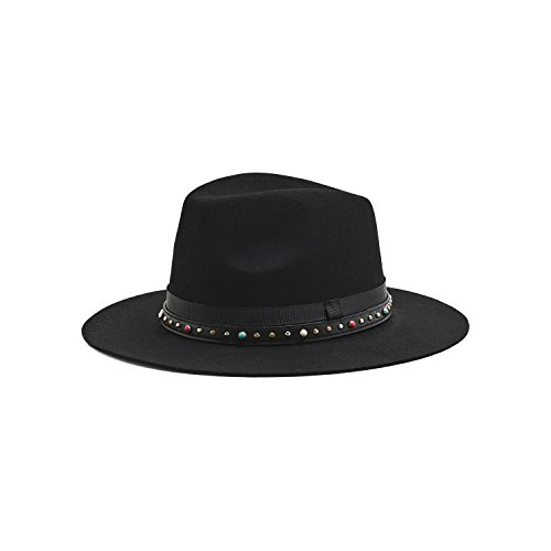 Amenapih by Hipanema Women s Fedora Hat black Black One size 8fe0cb81782