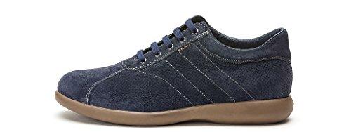 FRAU scarpe uomo sneakers basse 27C2 ROCCIA Blu