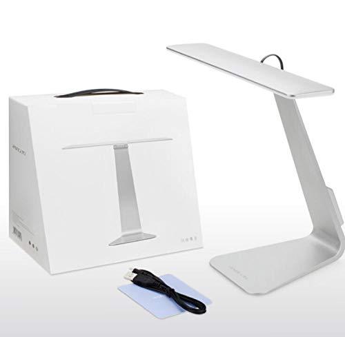 Ultradünne Mac Style 3-Modus Dimmen LED Lesestudie Schreibtischlampe Weicher Augenschutz Nachtlicht Klappbare wiederaufladbare Tischlampe -