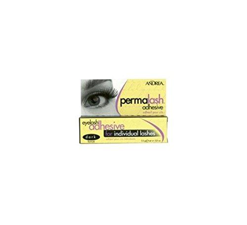 ANDREA PERMALASH Dark 300515 Wimpernkleber SCHWARZ, Klebstoff Haftkleber Wimpern -