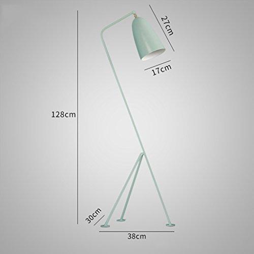 Classic Regal Couchtisch (Stehlampe Classic Retro Einfache Mode Lampe Wohnzimmer Couchtisch Schlafzimmer Kreative Stehlampe (Color : Green))