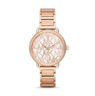 Michael Kors Reloj Analógico para Mujer de Cuarzo con Correa en Acero Inoxidable MK3887