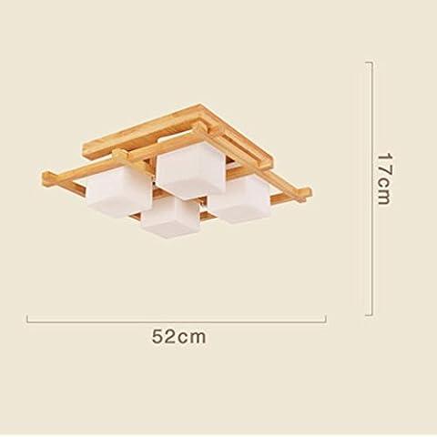 APSD-Iluminación cálida Sala de estar, dormitorio, living comedor, luz de techo, simple, moderno, atmosférica, (52 * 17cm)