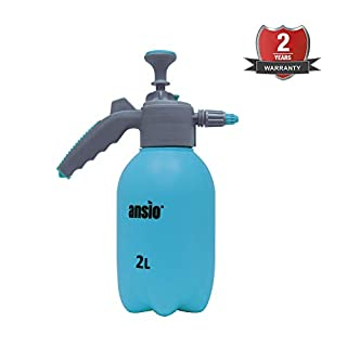 Garden Sprayer Pressure Sprayer with 2L Pump Action, Ideal with Weed killer, Pesticides, Herbicides, Insecticides, Fungicides - Water Pump Sprayer - 2 Year Replacement Warranty