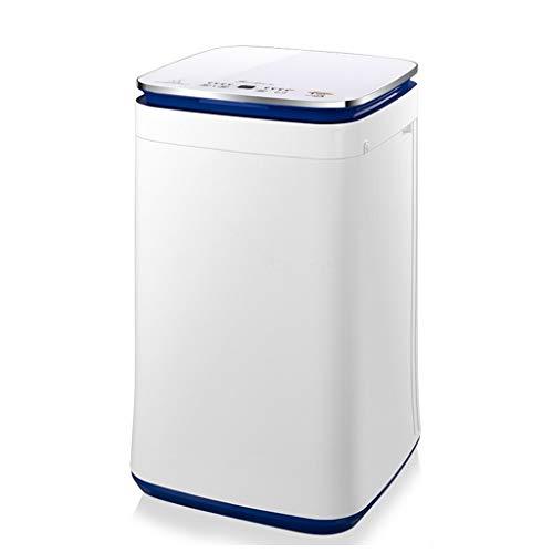 FIOFE Waschmaschine 4.5KG, Vollautomatisches Waschen, Hochtemperaturwäsche, Einfache Bedienung, Sicherheitskindersperre, Energiesparend Und Geräuscharm, Platzsparend, LED, Weiß, Unterwäsche