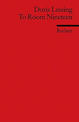 To Room Nineteen. par Doris Lessing