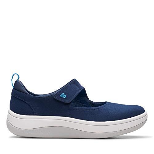 Clarks Arla Air, Zapatillas para Mujer, Azul Navy Navy, 38 EU