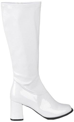 Kostüm Hässliche - Boland Damen Stiefel, weiß, 38 EU