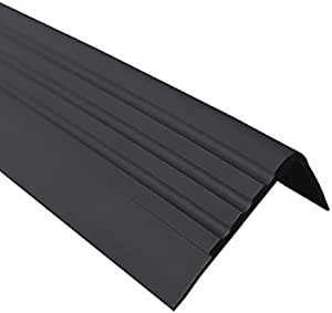 PVC Treppenkantenprofil Selbstklebend Winkelprofil Anti-Rutsch Treppenkante 41x25mm 1.30m