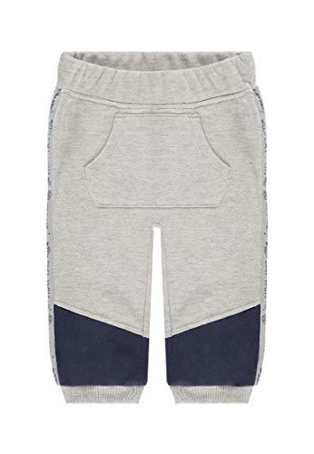 TOM TAILOR Kids Baby-Jungen Sweatpants solid Jogginghose, Grau (Vapor Blue Melange 8240), (Herstellergröße: 68)