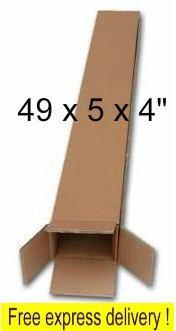 5 x Cardboard Golf Club Umbrella Walking Stick Postal Boxes S/W 49 x 5 x 4, FREE Express Delivery by Phoenix Supplies (Outlet Golf Club)